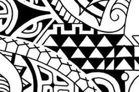 polynesian shoulder sleeve tribal flash designs