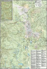 Oregon Topographic Map by Three Sisters Wilderness Trail Map Adventure Maps