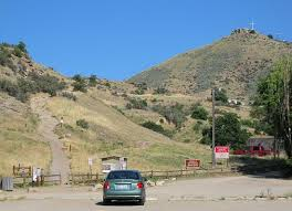 driving directions to table rock boise parking and table rock trailhead by old idaho penitentiary picture