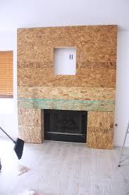 diy reclaimed wood fireplace u2014 kristi murphy diy blog