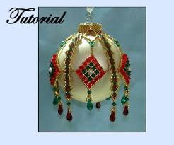 302 best beaded ornament cover patterns images on