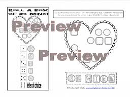 1st grade writing paper with picture box valentine s day lessons and activities chocolate box first vdaygame2014pic3