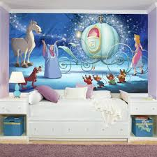 fairy tales fantasy wall decals you ll love wayfair disney princess cinderella carriage chair rail prepasted wall mural
