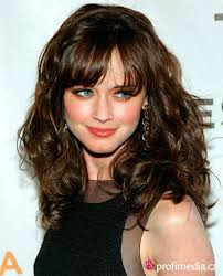 front fringe hairstyles women full fringe hairstyles for curly hair popular stock photos
