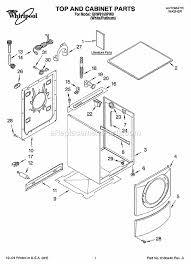 whirlpool ghw9150pw0 parts list and diagram ereplacementparts com