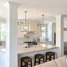 Kitchens With Two Islands The 25 Best Kitchen Island Pillar Ideas On Pinterest Kitchen