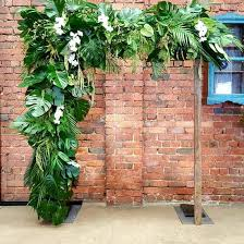 wedding arches for hire melbourne monstera wedding arch ceremonies i do