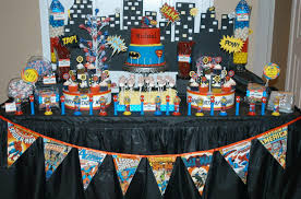 superheroes birthday party decorations home party ideas