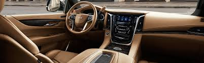 pictures of cadillac escalade cadillac 2018 escalade suv esv interior photos