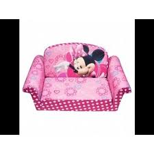 Minnie Mouse Flip Sofa by Disney Delta Children Character Toddler Upholstered Sofa Minnie