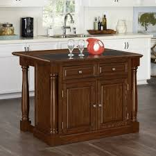 kitchen islands with granite top monarch oak kitchen island w granite top homestyles