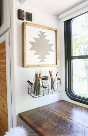 Modern Wall Art How To Make Navajo Inspired Art Mountainmodernlife Com