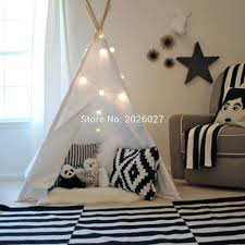 wholesale love tree four poles children teepees kids play tent