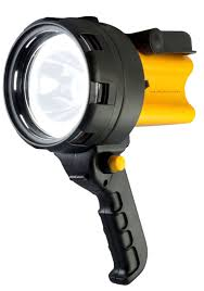 rechargeable led work light torch 1 million candle power spotlight