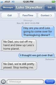 awkward thanksgiving text text messages