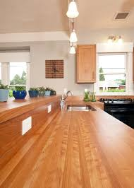 Countertops For Kitchen Wonderful Wood Countertops For Kitchen And Bath