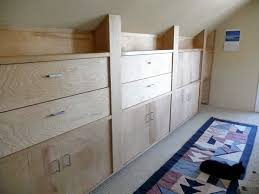 large knee wall cabinet fine homebuilding