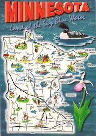 License Plate Usa Map by More Postcards U0026 Stamps Usa Map Minnesota