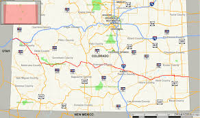 Us Maps States Us Map Showing Colorado Colorado Reference Thempfa Org