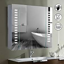 Bathroom Demister Mirror Mirror Cabinet 60 Led Light Illuminated Mirror Bathroom Mirror