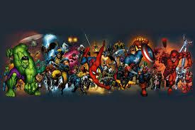 Marvel Universe Map Marvel Superhero Alphabet Geeks