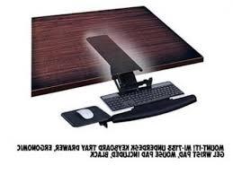 Under Desk Pull Out Drawer Top 10 Best Keyboard Trays Under Desk With Mouse Platform Seller