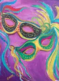 cardsadult mardi gras mardi gras mask canvas random mardi gras