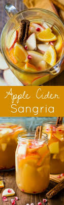 apple cider autumn sangria sallys baking addiction