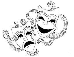 drama faces tattoos masks tattoo theater mask clip art tattoo