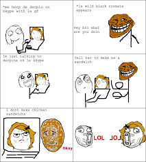 How To Make A Meme Comic - le i dont make chicken sandwichs view more rage comics at http