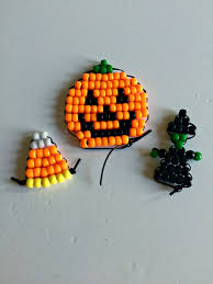hallowe u0027en pony bead beadie buddies 15 minute craft lightning