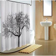 180 180cm scenery big black tree design waterproof