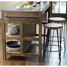 crate and barrel kitchen island bluestone reclaimed wood large kitchen island large kitchen