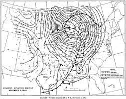 Eastern United States Weather Map by Armistice Day Blizzard Of 1940 Remembered