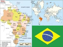 city map of brazil largest cities of brazil map