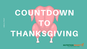 countdown to thanksgiving nutrition smart