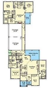 four bedroom house floor plans plan 12277jl rustic ranch with in suite ranch