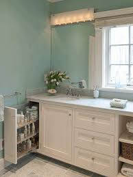 Bathroom Wall Cabinets White Narrow Bathroom Cabinet Brown Classic Wooden Frame Glass Mirror