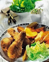 cuisiner pilon de poulet recette pilons de poulet à la maryland et grosses frites