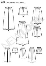 pattern for simple long skirt new look pattern review 2014 threads