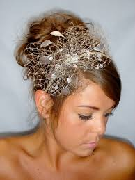 fascinators for hair gold fascinator of the summer wedding wedding