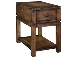 broyhill end table with usb broyhill furniture pike place 4850 004 1 drawer chairside table with