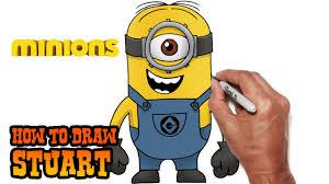 draw stuart minions