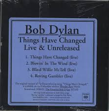 Blind Willie Mctell Bob Dylan Bob Dylan Things Have Changed Live U0026 Unreleased Us Promo 2 Cd