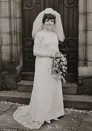bride falls in love with grandma u0027s wedding dress weeks before