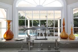 bay window kitchen ideas kitchen scandanavian kitchen sink without window ideas best in
