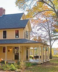house plan with wrap around porch wrap around porch house plans farmhouse with cottage farm