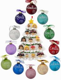 design your own unique family tree ornament using birthstones