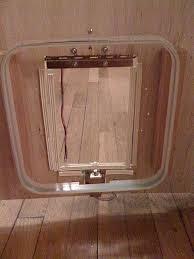 Interior Pet Door For Cats Rfid Cat Door Seeed Cc