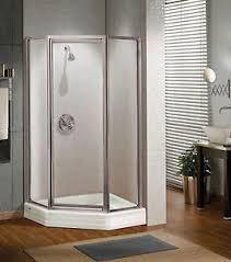 Shower Door 36 Maax 36 X 36 Silhouette 3 16 Glass Neo Angle Pivot Corner